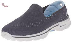 Go Step Seashore, Chaussures Bateau Femme, Bleu (NVY), 36 EUSkechers