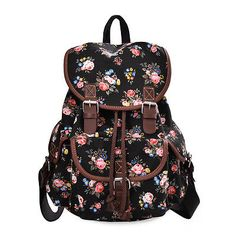 Lightweight Backpack for Teen Young Girls Cute Backpack Print Rucksack G00163