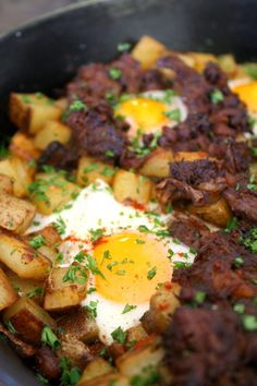 December at the RGB | Braised Short Rib Hash