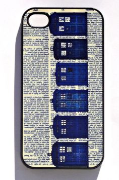 Nerdy Doctor Who Phone Case!!! Love this!!!