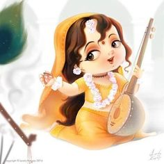 God's Favorite Valentine Meerabai, her poems, songs are unparalleled example of devotion and Love towards Shree Krishna. Lord Krishna Images, Radha Krishna Pictures, Radha Krishna Photo, Krishna Photos, Lord Krishna Wallpapers, Radha Krishna Wallpaper, Arte Krishna, Baby Krishna, Baby Ganesha