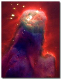 "Cone Nebula also known as ""Jesus 