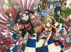 Fairy tail fan Merry go round
