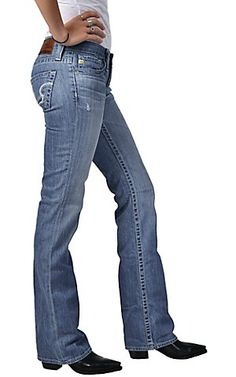 Big Star® Ladies Light Blue Remy Low Rise Boot Cut Jean | Cavender's Boot City