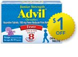 Save on Children's Advil with this coupon offer!