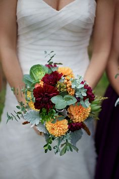 love these Fall colors! by Local Color Flowers Baltimore, via Flickr