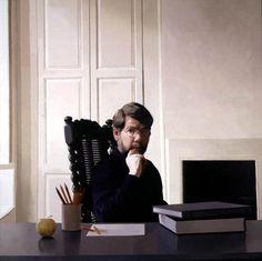 Self Portrait by Paul Brason on Curiator, the world's biggest collaborative art collection. Royal Society, Digital Museum, Collaborative Art, Portrait Art, Portraits, Painters, Image, Apples