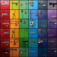 Locks of Color. Punny.
