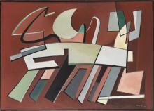 Presque rapide (Quasi rapido), 1937  , Alberto Magnelli  - Irma Bianchi Comunicazione