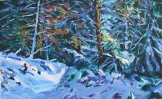 Winter Wonderland Jonathan Shearer Nature Sauvage, Tree Art, Les Oeuvres, Winter Wonderland, Snow, Paintings, Outdoor, Artist, Outdoors