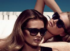 Edita Vilkeviciute, and Toni Garrn for Hugo Boss Black's Spring 2013 Campaign by Mikael Jansson