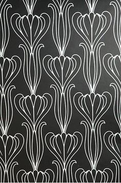 Black and White pattern - Wallpaper Ideas