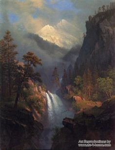 Cascading Falls at Sunset by Albert Bierstadt hand painted reproduction  100% Handmade Reproductions of Albert Bierstadt:  http://www.art-4-home.com/albert-bierstadt/cascading-falls-at-sunset-p3853.html  Museum Quality at the best price on Internet. Purchase Cascading Falls at Sunset by Albert Bierstadt reproduction on canvas Oil reproductions of Cascading Falls at Sunset with custom size    Tags: art reproduction of Albert Bierstadt, Albert Bierstadt painting, Albert Bierstadt hand painted…