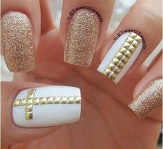Gold glitter and gold cross