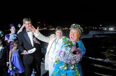 And at midnight on July 24, these two ladies became the first same-sex couple married in New York State.