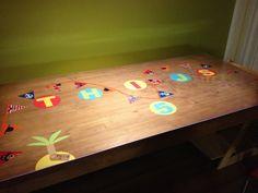 Verjaardagstafel in Haarlem... Gezield door Astrid . www.tafelziel.nl