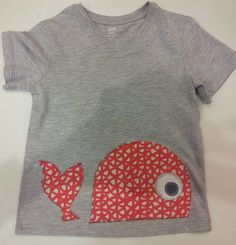 Customizar camiseta (ballena)