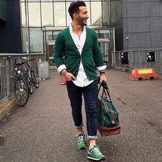 Mens Fashion Smart – The World of Mens Fashion Moda Instagram, Mode Masculine, Stylish Men, Men Casual, Smart Casual, Urban Fashion, Mens Fashion, Fashion 2016, Cool Outfits