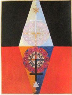 Hilma af Klint - Grupp VIII, nr. 6, 1913.