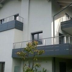 Poggioli e balconi in alluminio - Z.Style