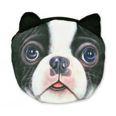 Dog Coin Purse - Boston Terrier