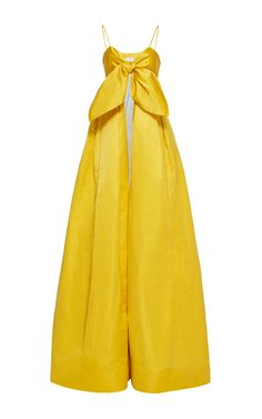 Alika Bow Two Piece Gown by LEAL DACCARETT for Preorder on Moda Operandi