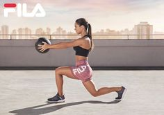 Fila Training S/S 2018 (Various Campaigns) Production Company, Photography Women, Campaign, It Cast, Stylists, Wellness, Train, Poses, Running
