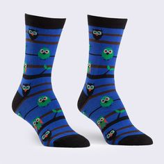 Sock It To Me - Owls Socks (Womens) – GiantRobotStore