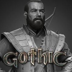 For Gomez! Gothic Games, Gomez, Anatomy Study, Young Female, Fantasy Warrior, Medieval Fantasy, Zbrush, Sculpting, Old Things