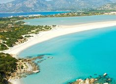 Villasimius Beach in Sardinia