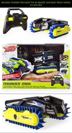 Air Hogs Thunder Trax Boys Toy RC Remote Tank Boat Truck Vehicle 2.4 GHZ NEW #gadgets #air #racing #boat #kit #technology #hogs #plans #shopping #tank #camera #fpv #products #parts #drone #tech