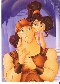 When my fiancé and I went to Disneyland, we got told by a lot of people that we resembled Herc and Meg! I took it as a compliment! :)