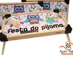 Bandeja Cafe da Manhã Festa do Pijama