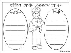 Happy Monday friends! We're on to community helpers this week and I ran across this great chart on Pinterest . I stinking L.O.V.E Officer Bu...