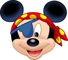 Tubes disney - thinou Mickey Minnie Mouse, Minnie Mouse Cartoons, Baby Mickey, Mickey Head, Disney Cartoons, Disney Mickey, Disney Cruise, Pirate Rock, Pirate Images