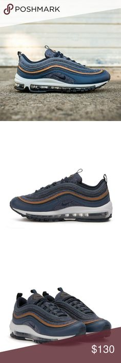 Wmns/Girls Nike Air Max 97 (Size 7y/8.5) 2 Sizes available*  •Brand new in box •100% authentic •Excellent condition •Size:  7y(youth)= Fits size 8.5 women •Size   6.5y(Youth) = Fits size 8 women •Colorway: Thunder blue/Obsidian •Ships doubled boxed •Secured packaging •Same day/next day shipping  All items are 100% authentic.  Questions, concerns, comments or suggestions are welcomed. Nike Shoes Sneakers