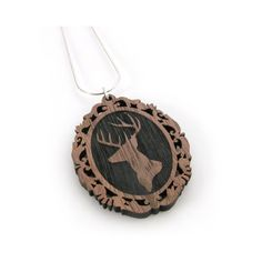 Stag - Cameo Necklace