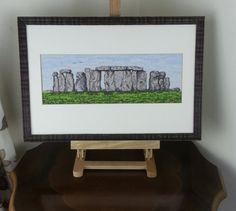 Stonehenge UK - Cross Stitch Kit