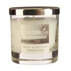 Spring Clean Medium Candle Jar by Wax Lyrical Scented Candles, Candle Jars, Classic Candles, Wax Lyrical, Large Candles, Spring Cleaning, Own Home, Diffuser, Lyrics