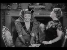 The Awful Truth scene She sings so it counts. love this movie, love the scene, love Irene.