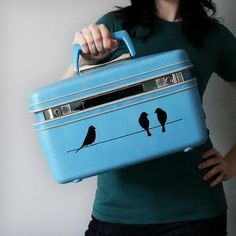 I have a little case just like this - inspired!