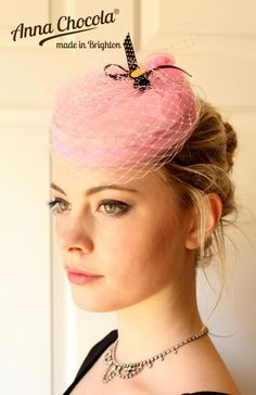 Anna Chocola® Brighton Pillbox Hat