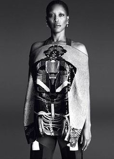 The Wonderfully Wild Style of Erykah Badu, the New Face of Givenchy