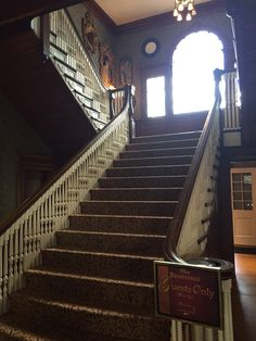 Stairs at the Stanley Hotel (The Shining)