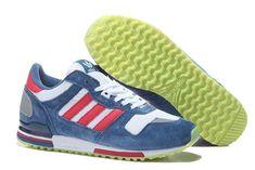 Uncostly Adidas Original Zx 700 Cadet Blå Nubuck Hvit for Dame Sko