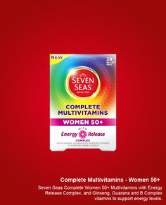 Seven Seas Complete Women 50  Multivitamins are a complete A-Z blend of essential vitamins with minerals at levels tailored for daily health maintenance of women aged 50 and over. https://www.seven-seas.com/products/complete-multivitamin-women-50-plus.htm
