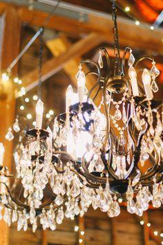 #chandelier  photography: Judy Pak Photography - judypak.com  Read More: http://www.stylemepretty.com/2014/02/25/elegant-farm-wedding-in-the-berkshires/