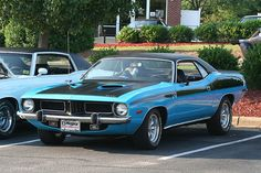 1973 Plymouth Barracuda--   they just don't build them like they used to!