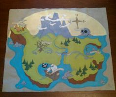 Neverland by leBigsFineArt on Etsy, $65.00... wall décor... Brixton's room