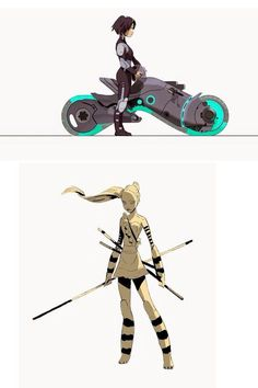Big hero six concept art (GoGo ftw):
